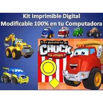 Kit Imprimible Candy Bar Chuck Y Sus Amigos Cumpleaño Fiesta