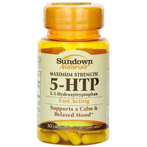 Sundown Naturals Maximum Strength 5-htp 200 Mg 30 Cápsulas