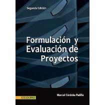 Formulación Y Evaluación De Proyectos Pdf