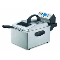 Freidora Digital Waring 1800w Acero Inox Inmersion Electrica