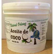 Aceite De Coco Natural Comestible Y Delicioso 4lt