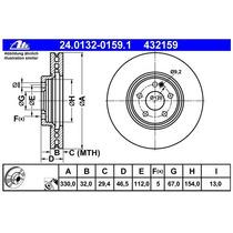 Disco Freno Ate Delante Mercedez Benz Slk 32 Amg 3.2 L 01-04
