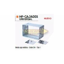 Base Frente Adaptador Estereo Media Caja Metalica Tipo 1