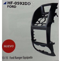 Base Frente Estereo Doble Din Ford Ranger 2013- 15 Equipada