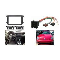 Adaptador Frente Y Arnes Volkswagen Beetle Año 2012 A 2015