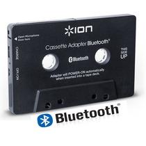 Adaptador De Cassette Inalambrico Bluetooth Con Microfono