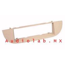 Adaptador, Frente Para Estereo Fiat 500 2008-2012 1 Din Bge