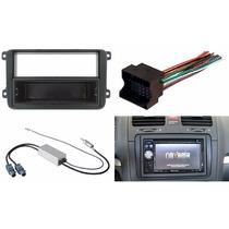 Adaptador Frente Arnes Y Antena Volkswagen Bora 2005 A 2012