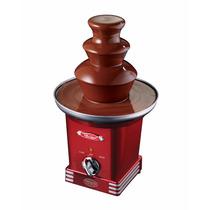 Fuente De Chocolate Nostalgia Rff600retrored 3 Niveles