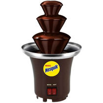 Fuente Mini De Chocolate Chamoy Queso Nesquik