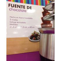 Fuente De Chocolate Queso Eventos Mesas Postres Finos