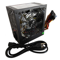 Fuente De Poder Pc Atx 600watts P/ Computadora De Escritorio