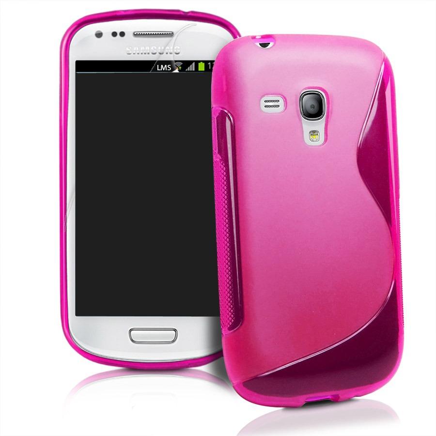 Funda plastico o tpu par samsung galaxy s3 mini i8190l mica en mercadolibre - Samsung s3 mini fundas ...