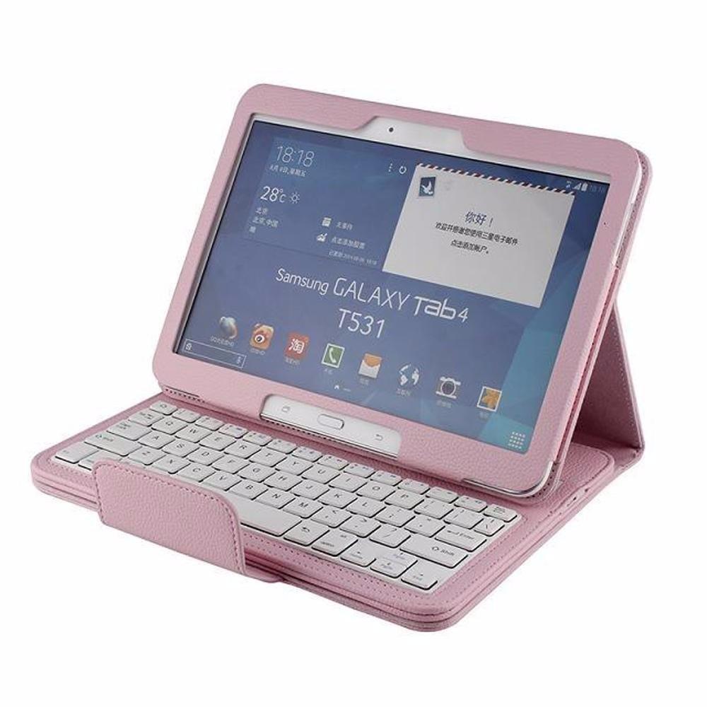 funda y teclado bluetooth para samsung galaxy tab 4 10 1   2 099 00