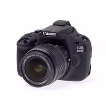 Canon Eos Rebel T5 Funda De Silicon Color Negro