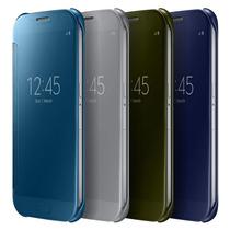 Funda Galaxy S6 S View Flip Cover Clear 100% Original