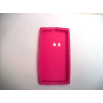 Protector Silicon Case Nokia N9 Color Rosa!