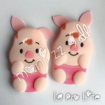 Funda Pigglet 3d Orejas Para Lg G Pro Lite