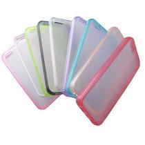 Funda Tpu Rigida Para Iphone 5 Apple + Mica Varios Colores!!
