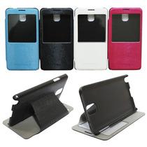 Funda Flip Cover - Samsung Galaxy Note 3 N900w8 N9000 + Mica