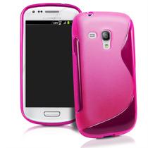Funda Plastico O Tpu Par Samsung Galaxy S3 Mini I8190l +mica