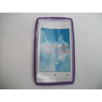 Protector Tpu Sony Xperia E C1505 Color Morado!