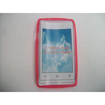 Protector Tpu Sony Xperia E C1505 Color Rosa!