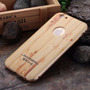Bumper Aluminio Case Apple Iphone 6 6s Y Plus Tipo Madera