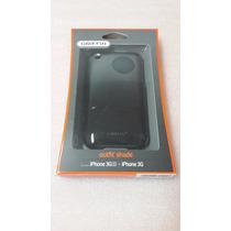 Case Plástico Iphone 3g Y Iphone 3gs Carcasa Rígida Negra