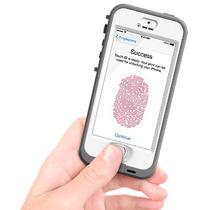 Funda Contra Agua Golpes Iphone 5s Protector Uso Rudo Huella