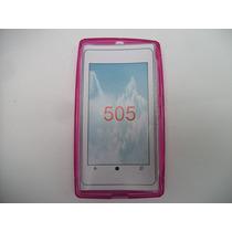 Protector Tpu Nokia Lumia 505 Color Rosa!