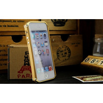 Iphone 5 Y 5s, Funda De Madera Con Aluminio Element Case