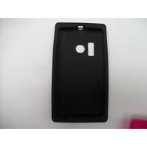 Protector Silicon Case Nokia Lumia 505 Color Negro!