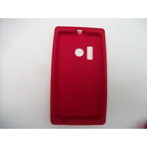 Protector Silicon Case Nokia Lumia 505 Color Rojo!