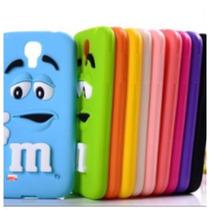 Linda Funda Silicon Suave 3d M&m Chocolates Colores Iphone6