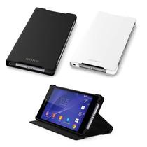 Funda De Piel Original Ultra Delgada Para Sony Xperia Z3