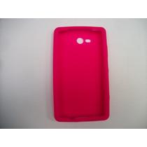 Protector Silicon Case Nokia Lumia 820 Color Rosa!!!