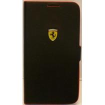 Funda Cartera Mobo Ferrari Samsung Galaxy S4 Negra