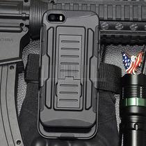 Funda Future Armor Case Militar Iphone 5 5s Clip Cinturon