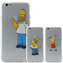 Funda Case Homero Simpson Iphone 4 4s 5 5s 6 6s 6plus 6splus