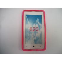Protector Tpu Nokia Lumia 820 Color Rosa!!!