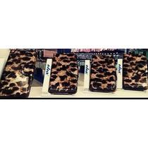 Funda Flip Cover Cartera Leopardo Apple Iphone 4 4s