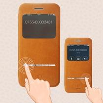 Funda Baseus Iphone 6 Plus 5.5 Piel 100% + Mica Gratis