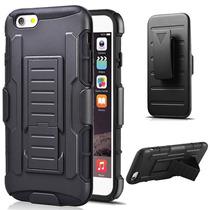 Funda Clip Uso Rudo Hibrido 3 En 1 Iphone 5 - 5s - 5c