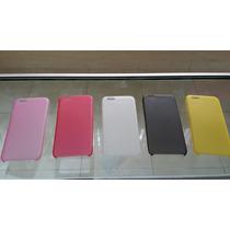 Funda De Plastico Para Iphone 6 Muy Ligera + Mica De Vidrio