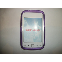 Protector Tpu Blackberry Curve Touch 9380 Color Morado!!!
