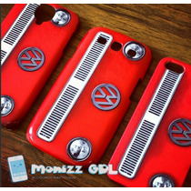 Vw Case Antiguo Iphone 5/5s 5c 6 6 Plus S3 S4 S5 S6 S6 Edge