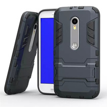 Funda Protector Power Case Resistente Anti Golpes Moto G3