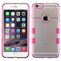 Funda Case Protector Doble Transparente Iphone 6 Plus Hp