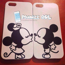 Mickey & Minnie Case Iphone 5/5s 5c 6 6 Plus S4, S5 S6 S6e
